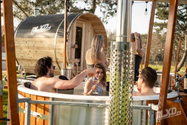 hottub en sauna